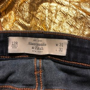 Abercrombie and Fitch Skinny Jeans Size 12R